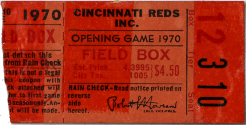 1970 Opening Day Thumbnail