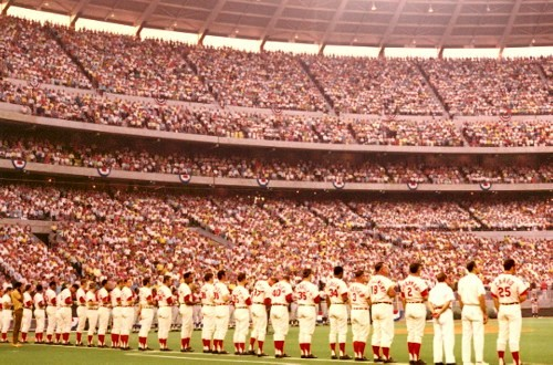 Opening Day 1971 in Cincinnati