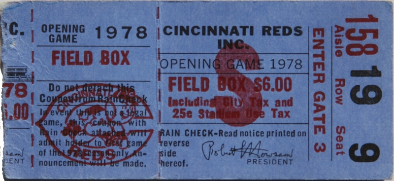 1978 Opening Day Thumbnail