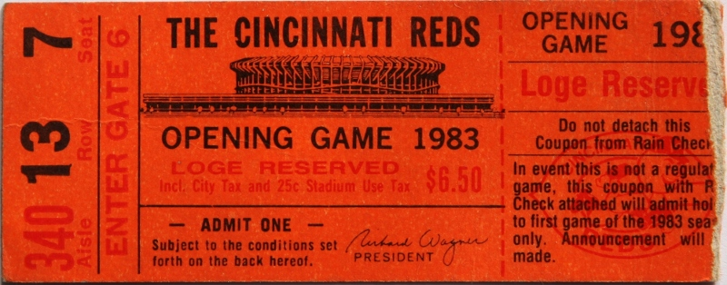 1983 Opening Day Thumbnail
