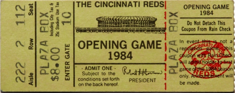 1984 Opening Day Thumbnail